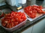 איך לחתוך עגבניות לשקשוקה - תמונות נוספות
